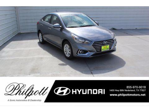 Urban Gray Hyundai Accent SEL.  Click to enlarge.