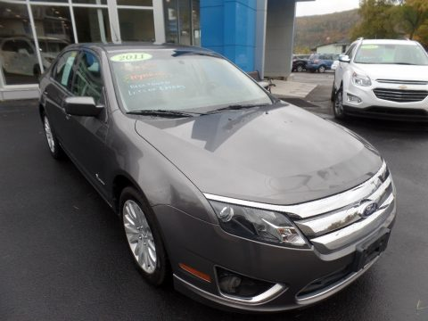 Sterling Grey Metallic Ford Fusion Hybrid.  Click to enlarge.