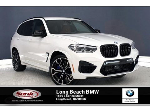 Alpine White BMW X3 M Competition.  Click to enlarge.