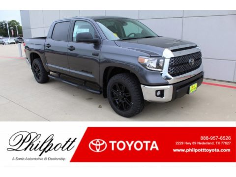 Magnetic Gray Metallic Toyota Tundra TSS Off Road CrewMax.  Click to enlarge.