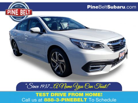 Crystal White Pearl Subaru Legacy 2.5i Limited.  Click to enlarge.