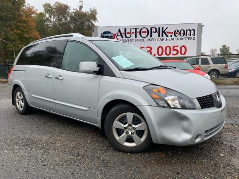 Silver Mist Metallic Nissan Quest 3.5 S.  Click to enlarge.