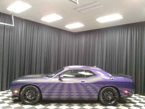 Plum Crazy Pearl Dodge Challenger T/A 392.  Click to enlarge.