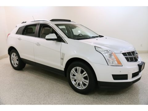 Platinum Ice Tricoat Cadillac SRX Luxury.  Click to enlarge.