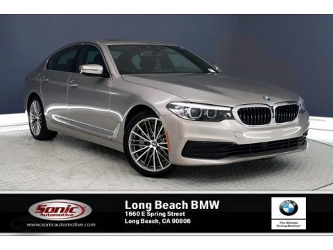 Cashmere Silver Metallic BMW 5 Series 530i Sedan.  Click to enlarge.