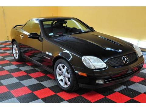 used 1998 mercedes benz slk 230 kompressor roadster for sale stock 058040. Black Bedroom Furniture Sets. Home Design Ideas