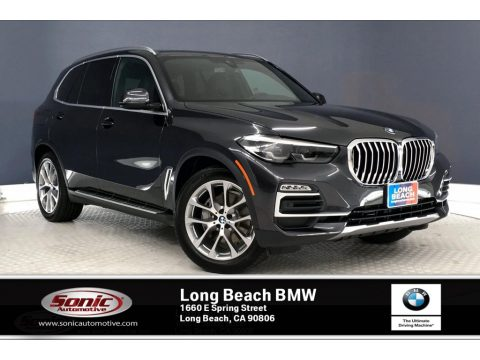 Dark Graphite Metallic BMW X5 sDrive40i.  Click to enlarge.