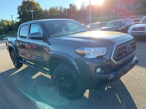 Magnetic Gray Metallic Toyota Tacoma SR5 Double Cab 4x4.  Click to enlarge.