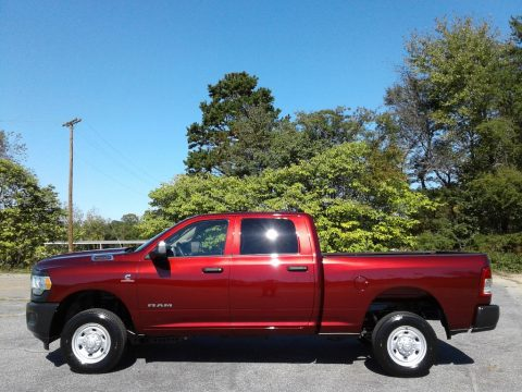 Delmonico Red Pearl Ram 2500 Tradesman Crew Cab 4x4.  Click to enlarge.
