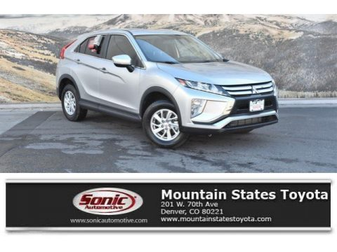 Alloy Silver Metallic Mitsubishi Eclipse Cross ES S-AWC.  Click to enlarge.