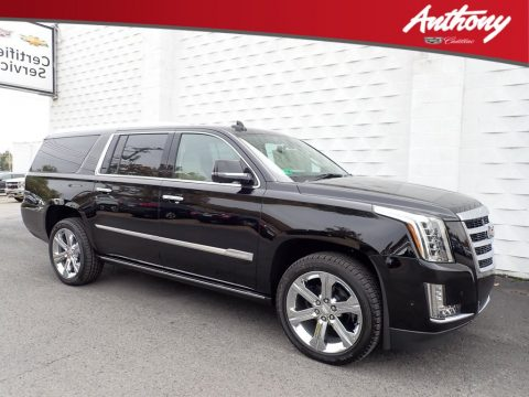 Black Raven Cadillac Escalade ESV Premium Luxury 4WD.  Click to enlarge.