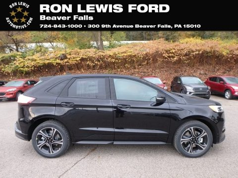 Agate Black Ford Edge ST AWD.  Click to enlarge.