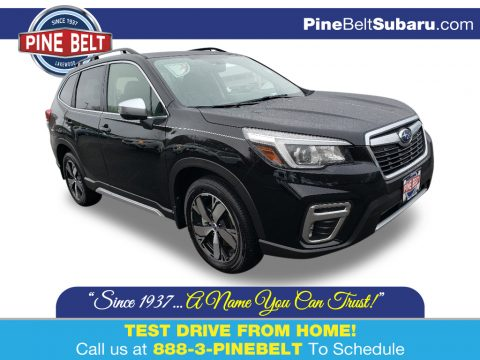 Crystal Black Silica Subaru Forester 2.5i Touring.  Click to enlarge.