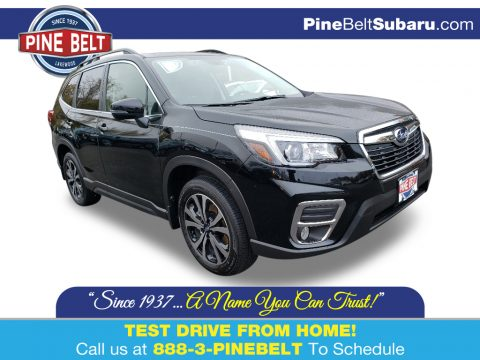 Crystal Black Silica Subaru Forester 2.5i Limited.  Click to enlarge.