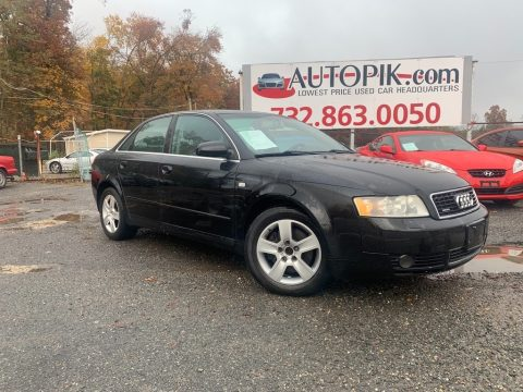 Brilliant Black Audi A4 3.0 quattro Sedan.  Click to enlarge.