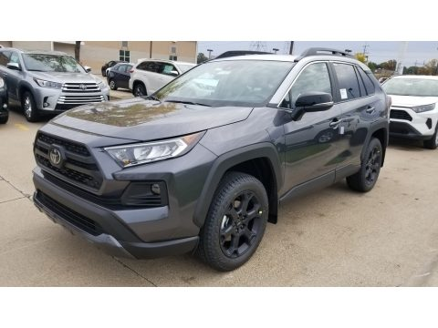 Magnetic Gray Metallic Toyota RAV4 TRD Off-Road AWD.  Click to enlarge.