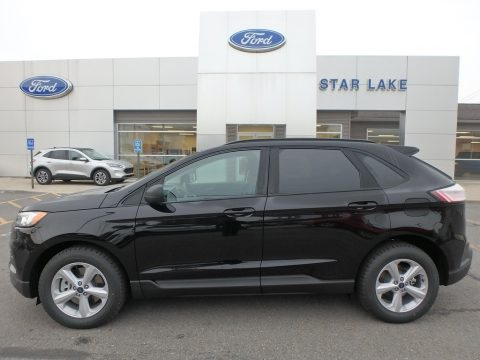 Agate Black Ford Edge SE AWD.  Click to enlarge.