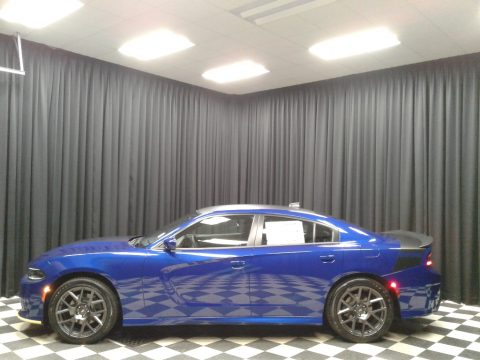 Indigo Blue Dodge Charger R/T.  Click to enlarge.