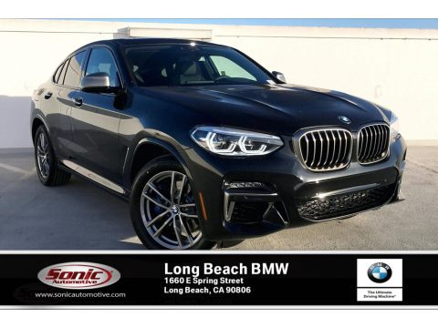 Black Sapphire Metallic BMW X4 M40i.  Click to enlarge.