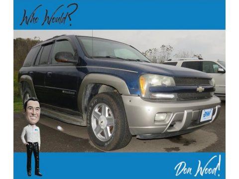 Indigo Blue Metallic Chevrolet TrailBlazer LTZ 4x4.  Click to enlarge.