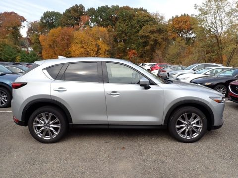 Sonic Silver Metallic Mazda CX-5 Grand Touring AWD.  Click to enlarge.