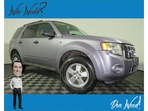 Tungsten Grey Metallic Ford Escape XLT V6.  Click to enlarge.