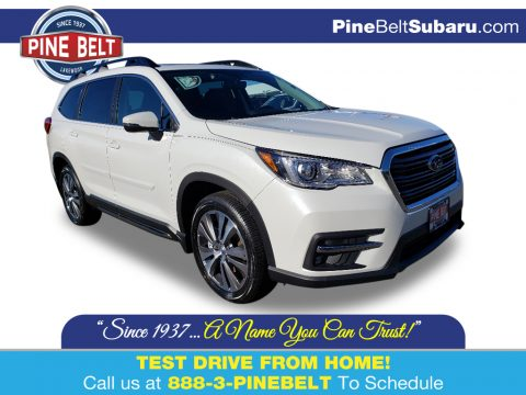 Crystal White Pearl Subaru Ascent Limited.  Click to enlarge.