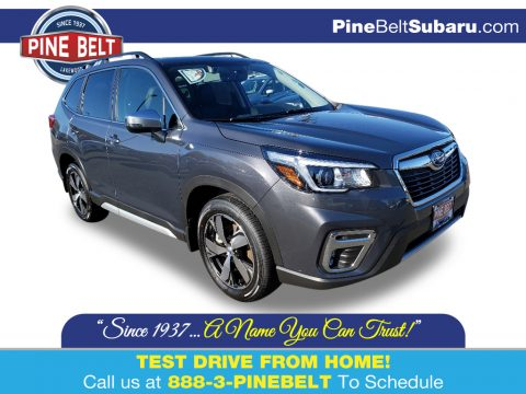 Magnetite Gray Metallic Subaru Forester 2.5i Touring.  Click to enlarge.