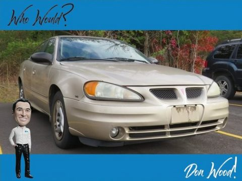 Champagne Beige Metallic Pontiac Grand Am SE Sedan.  Click to enlarge.