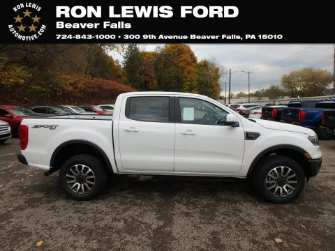 Oxford White Ford Ranger Lariat SuperCrew 4x4.  Click to enlarge.