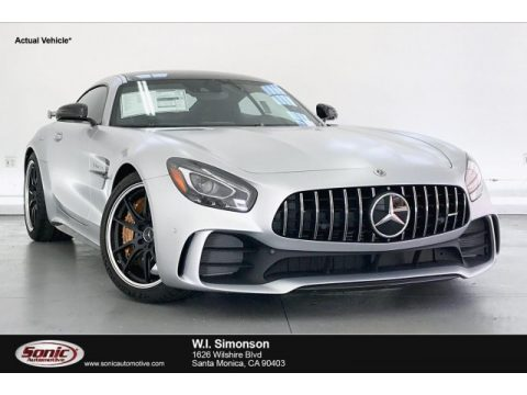 designo Iridium Silver Magno (Matte) Mercedes-Benz AMG GT R Coupe.  Click to enlarge.