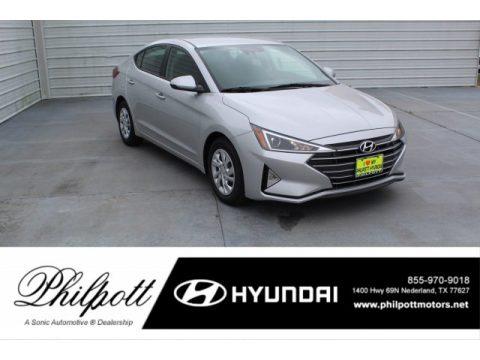 Symphony Silver Hyundai Elantra SE.  Click to enlarge.
