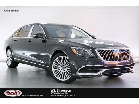 Magnetite Black Metallic Mercedes-Benz S Maybach S560 4Matic.  Click to enlarge.