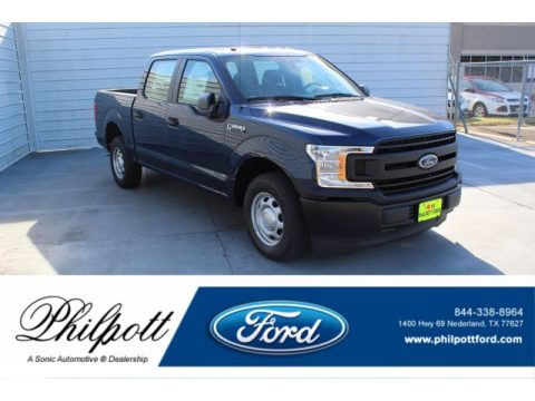 Blue Jeans Ford F150 XL SuperCrew.  Click to enlarge.