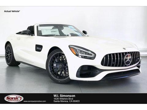 designo Diamond White Metallic Mercedes-Benz AMG GT C Coupe.  Click to enlarge.
