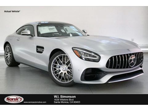 designo Iridium Silver Magno (Matte) Mercedes-Benz AMG GT Coupe.  Click to enlarge.