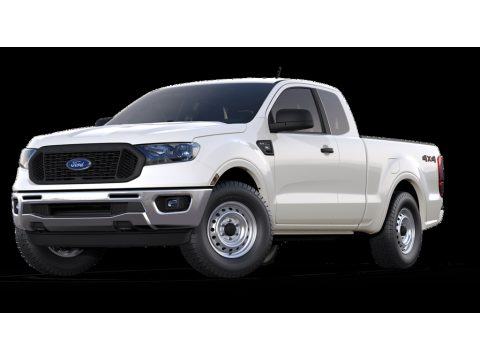 Oxford White Ford Ranger XL SuperCab 4x4.  Click to enlarge.