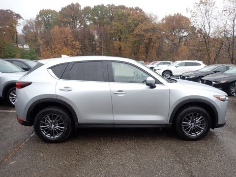 Sonic Silver Metallic Mazda CX-5 Touring AWD.  Click to enlarge.