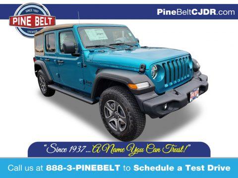 Bikini Pearl Jeep Wrangler Unlimited Sport 4x4.  Click to enlarge.
