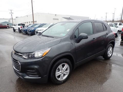 Nightfall Gray Metallic Chevrolet Trax LS.  Click to enlarge.