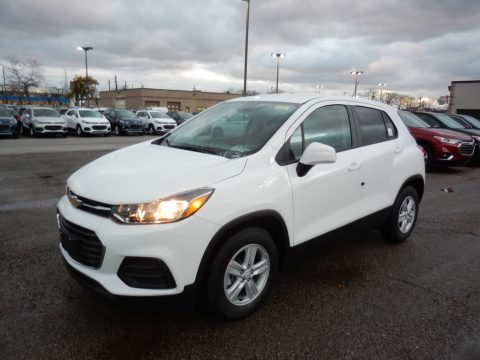 Summit White Chevrolet Trax LS.  Click to enlarge.