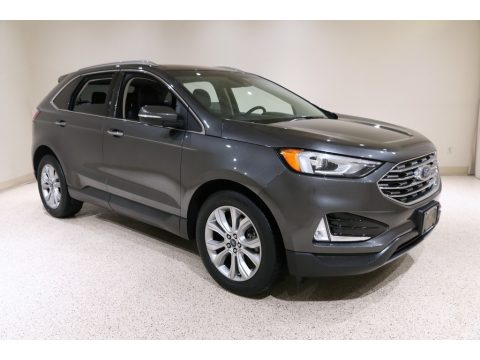 Magnetic Ford Edge Titanium AWD.  Click to enlarge.