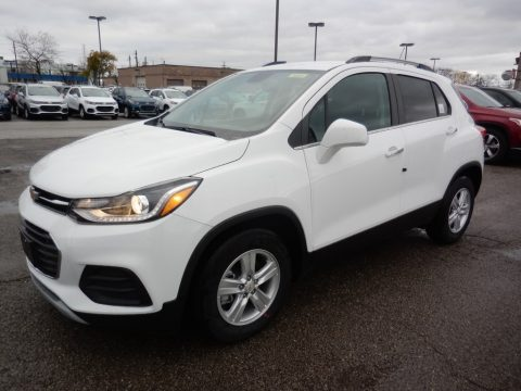 Summit White Chevrolet Trax LT.  Click to enlarge.