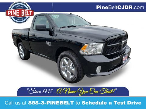 Diamond Black Crystal Pearl Ram 1500 Classic Express Regular Cab 4x4.  Click to enlarge.