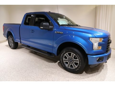 Blue Flame Ford F150 XLT SuperCab 4x4.  Click to enlarge.
