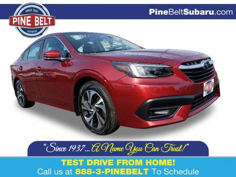 Crimson Red Pearl Subaru Legacy 2.5i Premium.  Click to enlarge.