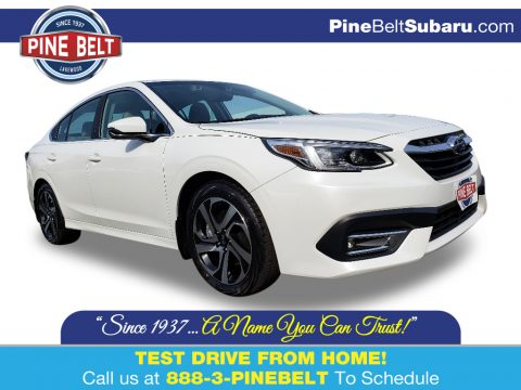 Crystal White Pearl Subaru Legacy Limited XT.  Click to enlarge.