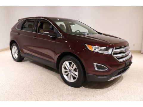 Burgundy Velvet Metallic Ford Edge SEL AWD.  Click to enlarge.