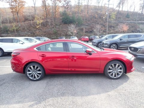 Soul Red Crystal Metallic Mazda Mazda6 Grand Touring Reserve.  Click to enlarge.