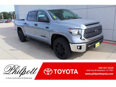 Cement Toyota Tundra TSS Off Road CrewMax 4x4.  Click to enlarge.